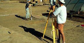 Optinis nivelyras archeologija