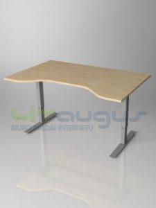 reguliojamas stalas