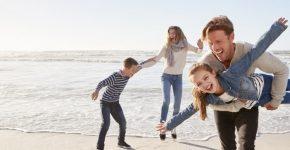 Savaitgalis prie jūros su mažamečiais vaikais